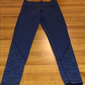 PINK Victoria Secret Leggings Dark Blue